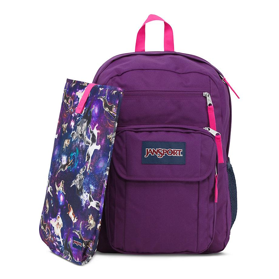 Jansport Digital Student Backpack Purple | PCC Bookstore ...