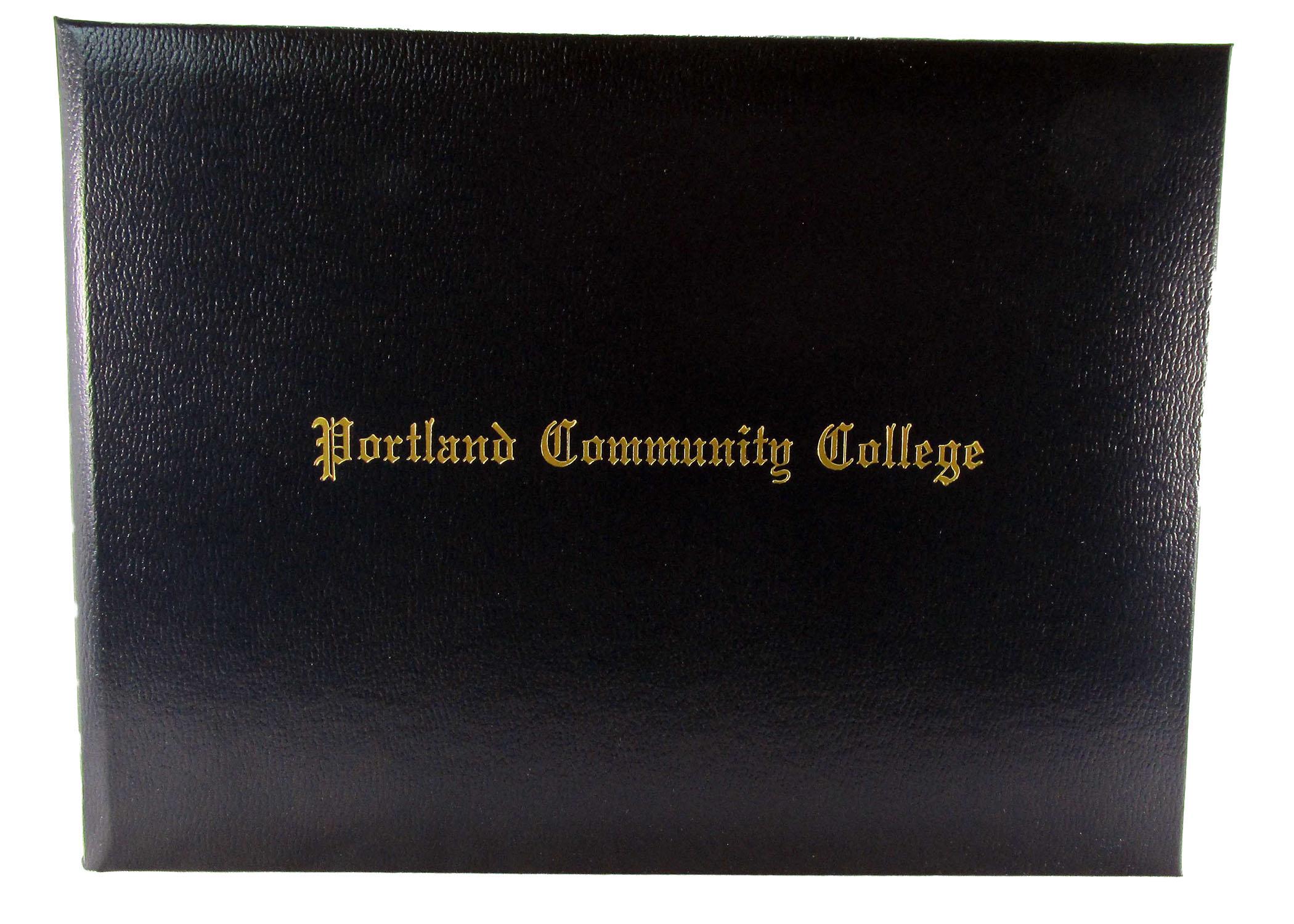 portland community college diploma cover pcc bookstore sylvania  diploma cover