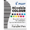 Image for Pilot Parallel Pen Mixable Refill Ink 12-pack