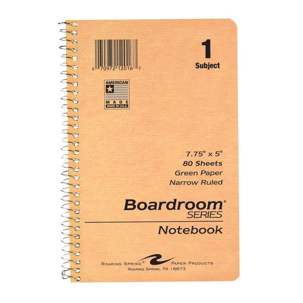 """Spiral Notebook 7 3/4"""" x 5"""""""