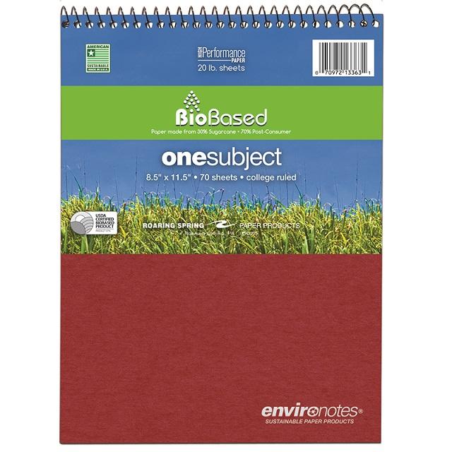 Spiral Notebook: Top Open