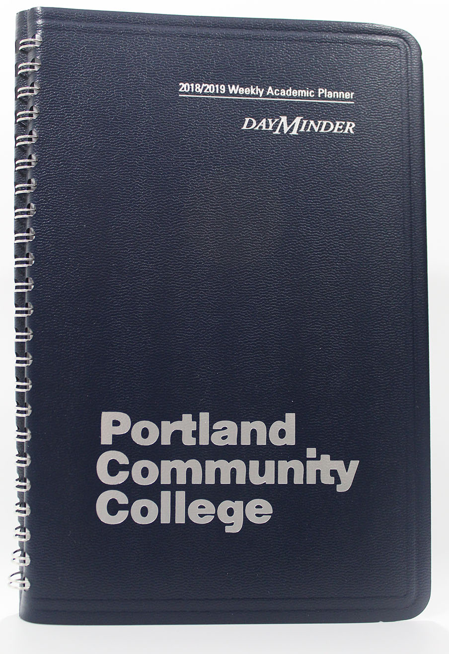 Dayminder Pcc Weekly Academic 2018 19 Pcc Bookstore Cascade