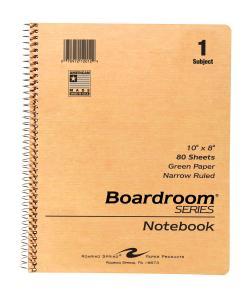 """Spiral Notebook 10"""" x 8"""""""