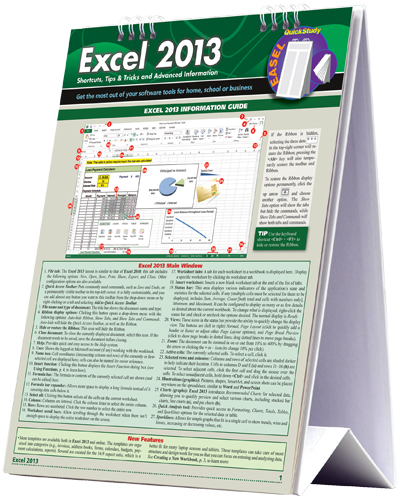 Image For Excel 2013 Easel