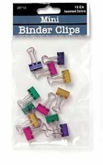 Image For Binder Clips: Metallic