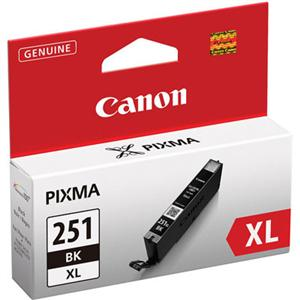 Image For Canon Ink Black XL CLI-251BKXL 6448B001 (351)