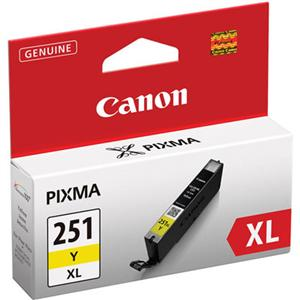 Image For Canon Ink Yellow CLI-251XL <Y>  6451B001 (351)