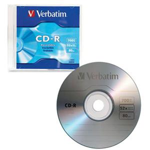 Image For Verbatim CD-R Single 94776 (351)