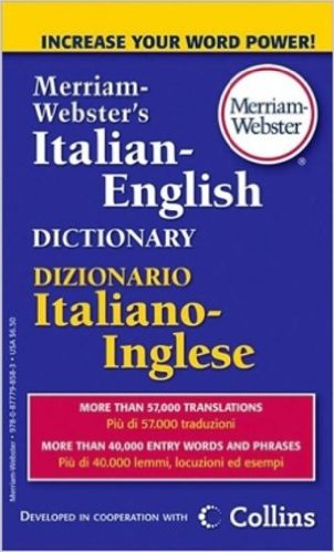 Cover Image For Italian-English Dictionary
