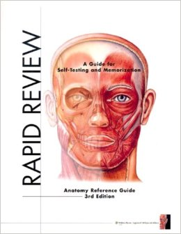 Image For Rapid Review Anatomy Reference Guide