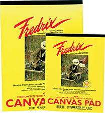 Image For Canvas Pad Fredrix