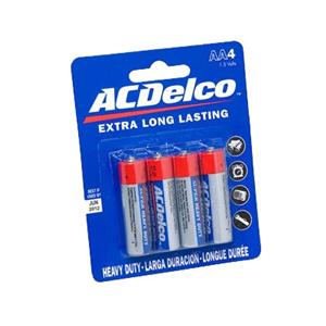 Image For AC Delco AA Battery 4 Pack AC210 (351)