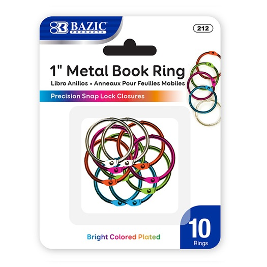 Image For Book Rings Color