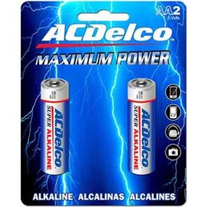 Image For AC Delco AA Battery 2 Pack AC208AC (351)
