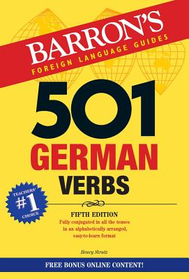 Cover Image For German 501 Verbs