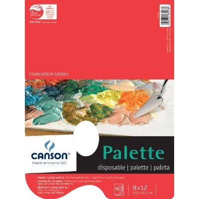 "Image For Palette Paper 9"" x 12"" Canson"
