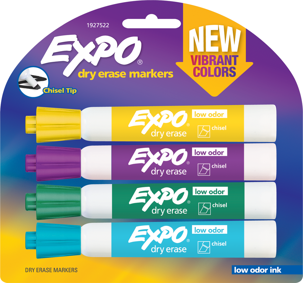 Image For Dry Erase: Expo Low Odor Vibrant Colors
