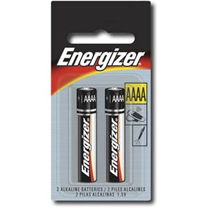 Image For Energizer AAAA Batteries 2 Pack E96BP2 (351)