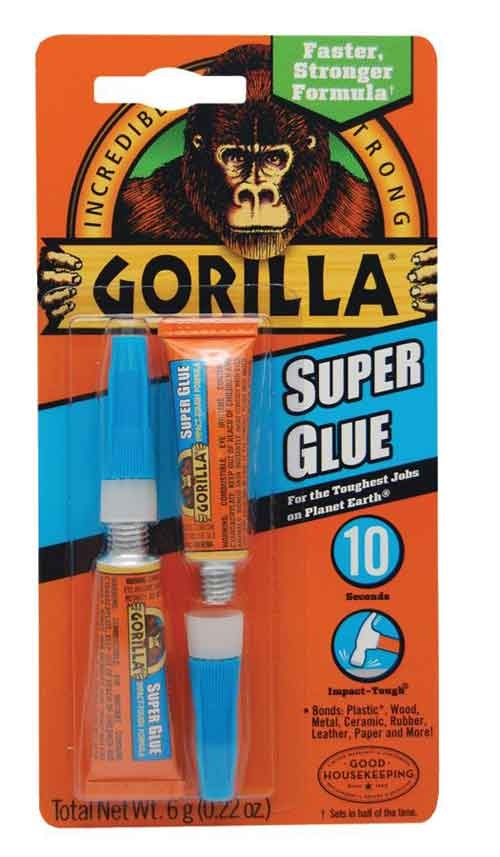 Image For GORILLA SUPER GLUE 2PK