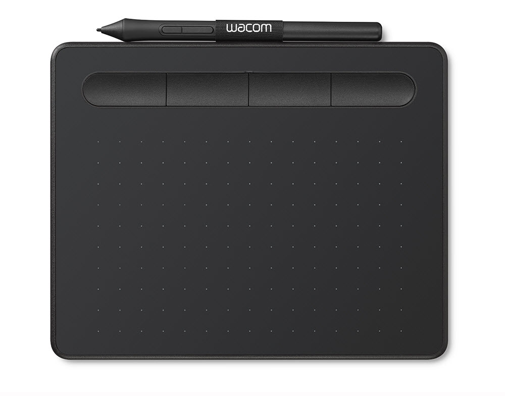 Image For Wacom Intuos Small Basic Black 119073-CTL4100 (351)