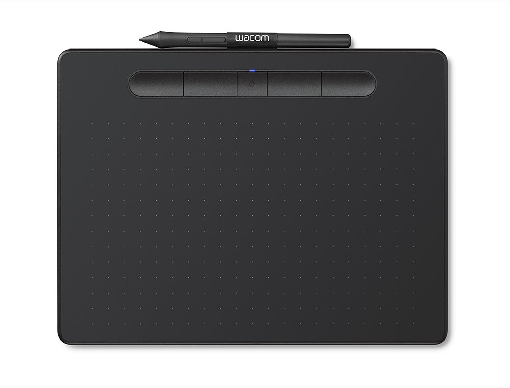 Image For Wacom Intuos Medium Bluetooth Black 119079-CTL6100WLK0 (351)