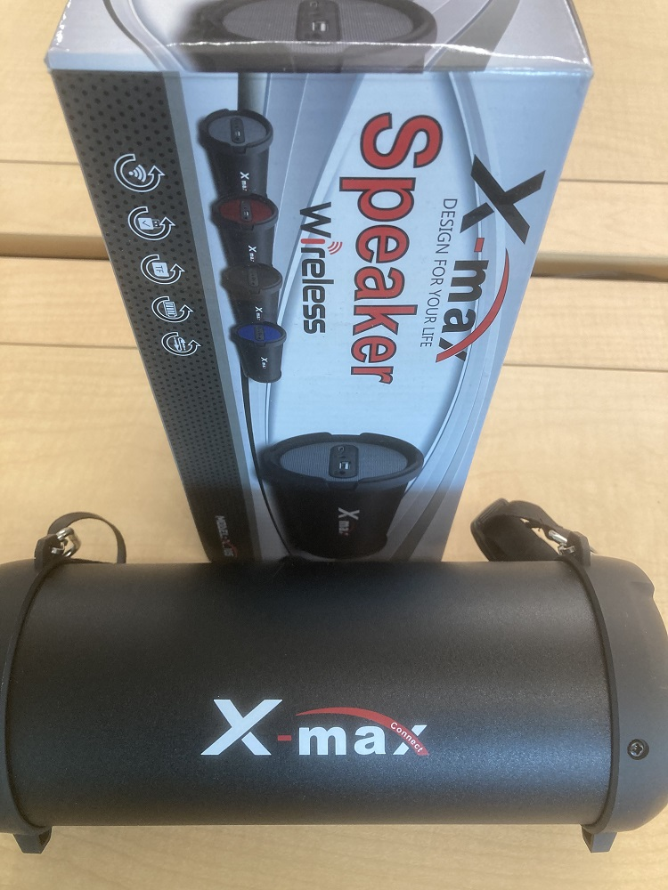 Image For X-max Tube Bluetooth Speaker X105 (352)