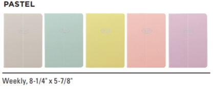 Image For ACADEMIC PLANNER 20-21 PASTEL