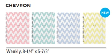 Image For ACADEMIC PLANNER 20-21 CHEVRON