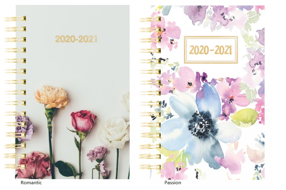 Image For ACADEMIC PLANNER 20-21 FLOWERS