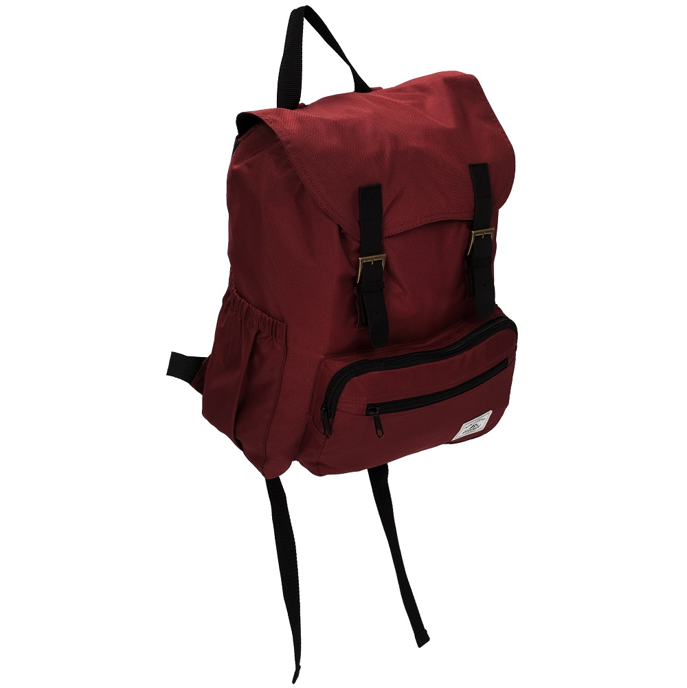 Image For Everest Stylish Rucksack Burgundy BP500-burg (360)
