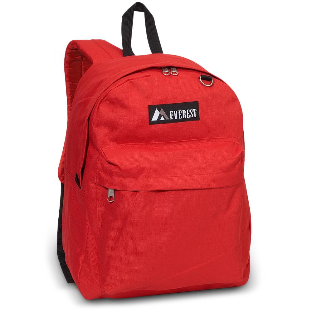 Image For Everest Classic Backpack Red 2045CR (360)