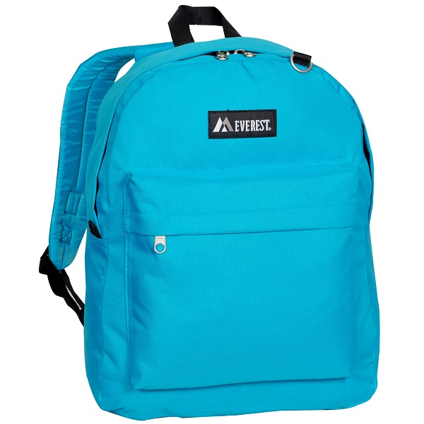 Image For Everest Classic Backpack Turquoise 2045CR (360)