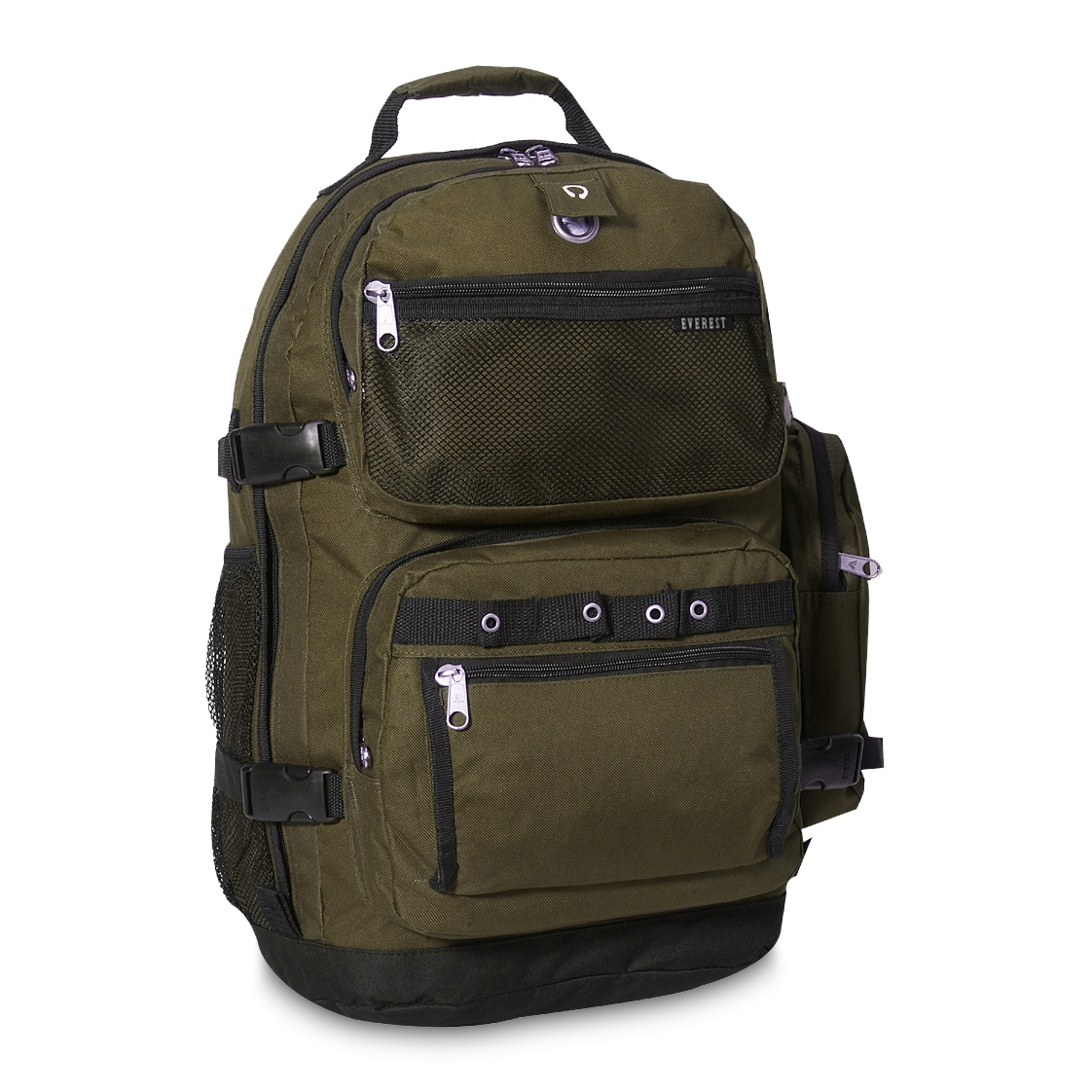Image For Everest Oversize Deluxe Backpack Olive 3045R (360)