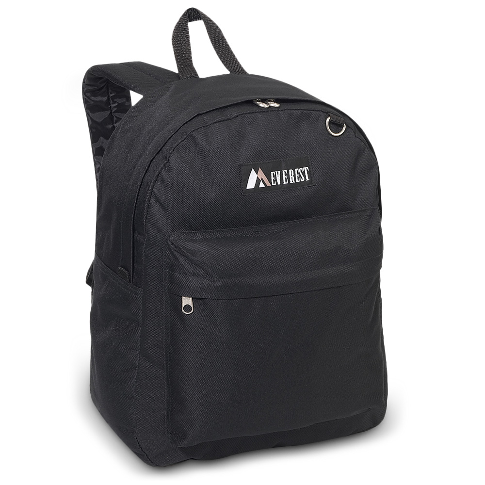 Image For Everest Classic Backpack Black 2045CR (360)
