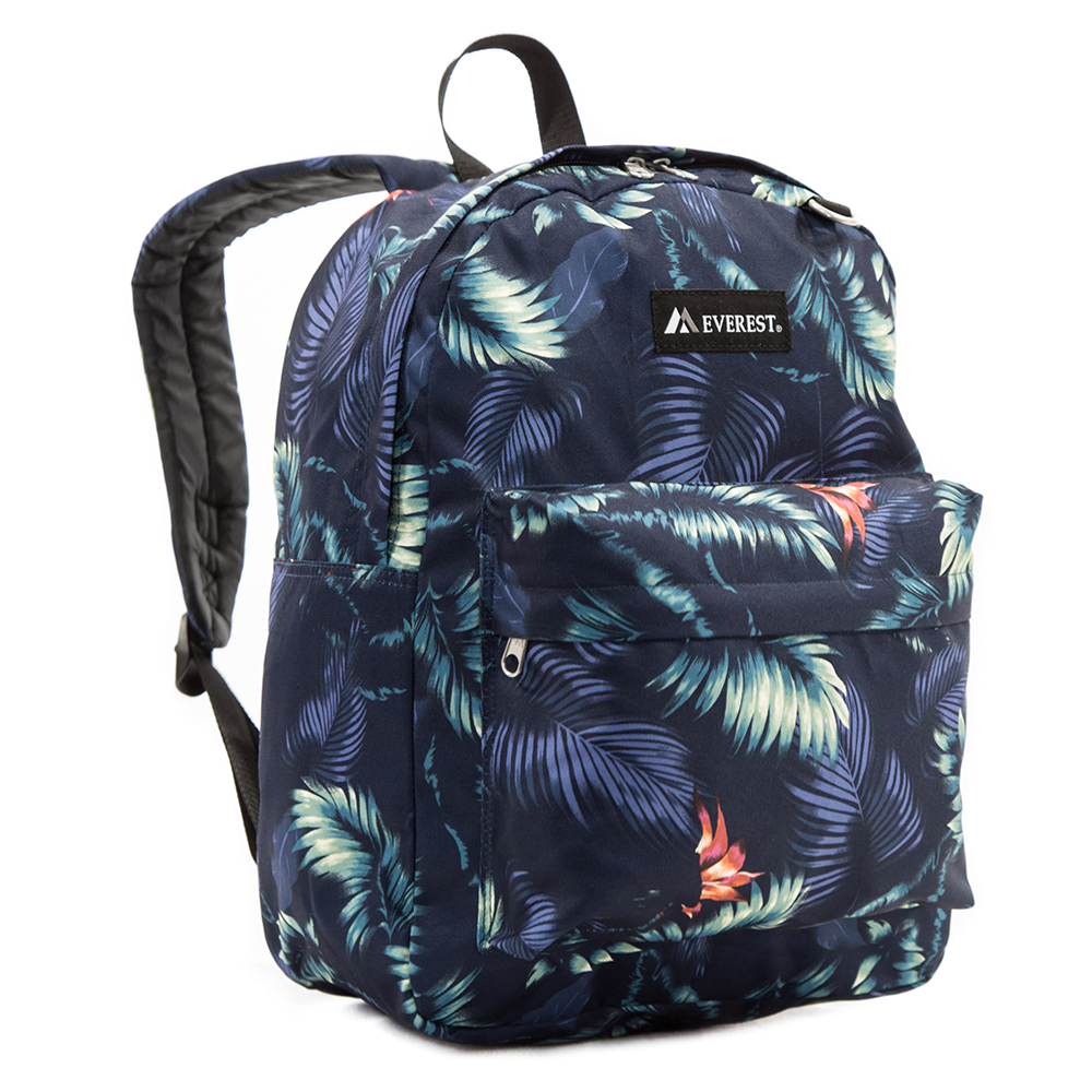 Image For Everest Pattern Dark Tropic Backpack 2045P (360)