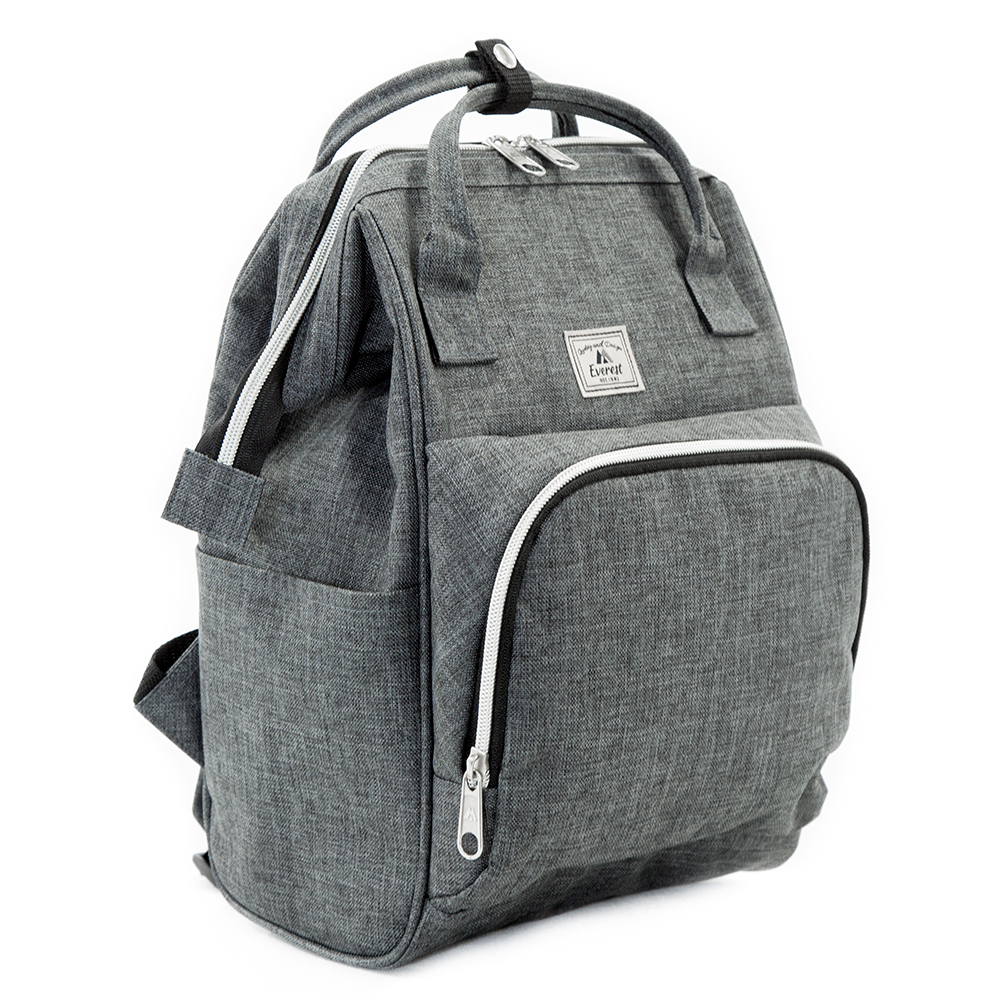 Image For Everest Mini Backpack Handbag Grey HP1100-gry (360)