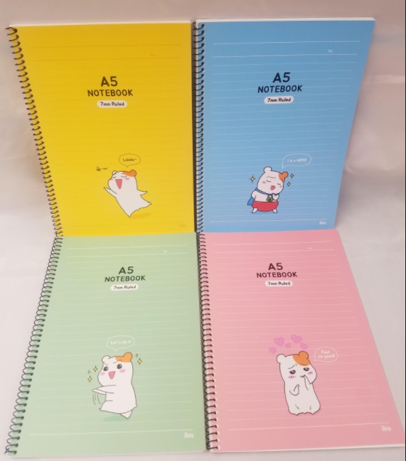 Image For NOTEBOOK EBICHU 7MM LINED