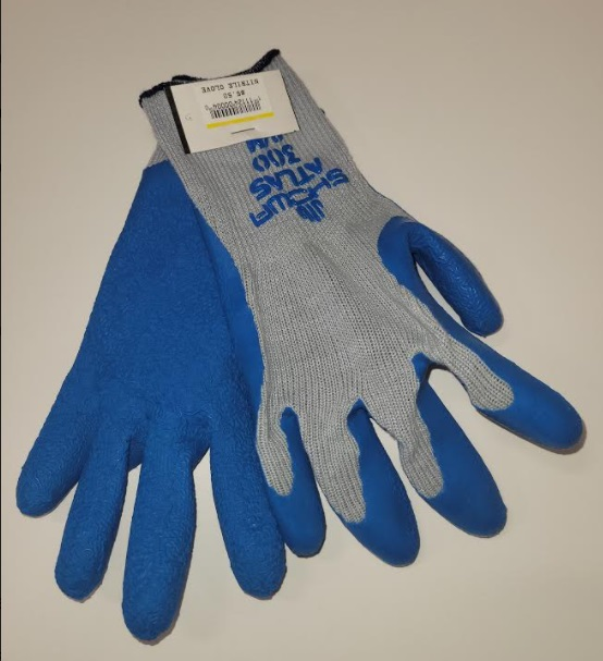 Image For NITRILE DIPPED WORK GLOVE