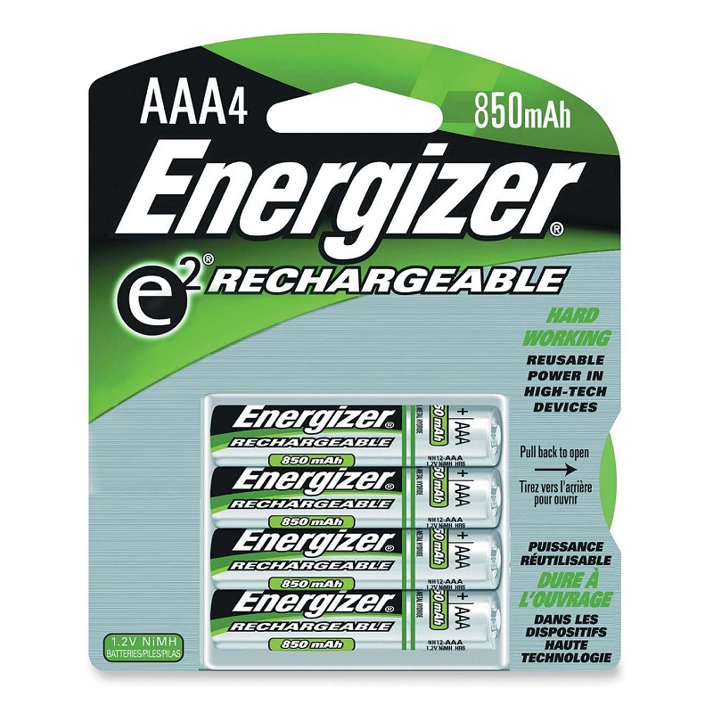 Image For Energizer Rechargeable AAA Batteries 4PK NIHM NH12BP4 (351)