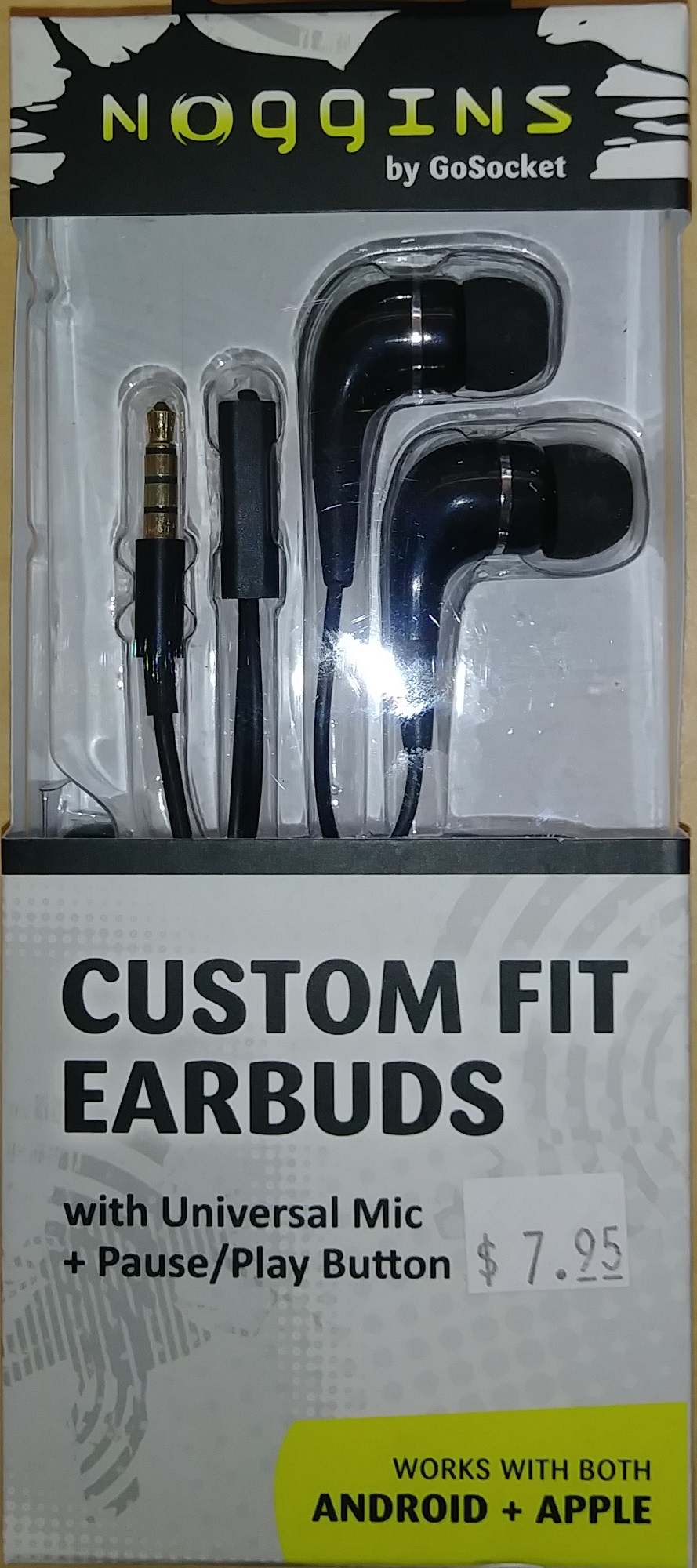 Image For EARBUD PEM G BLK