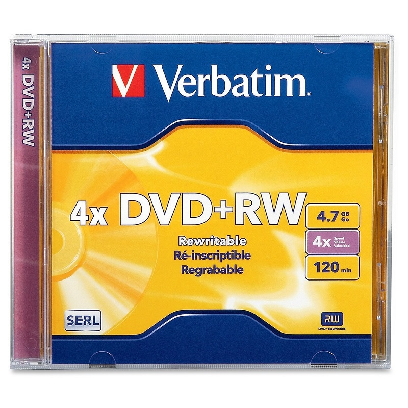 Image For Verbatim DVD+RW Single 94520 (351)