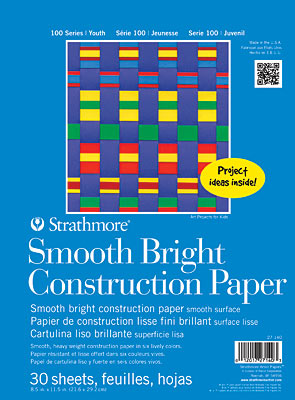 "Image For Construction Paper Bright 8.5"" x 11.5"""