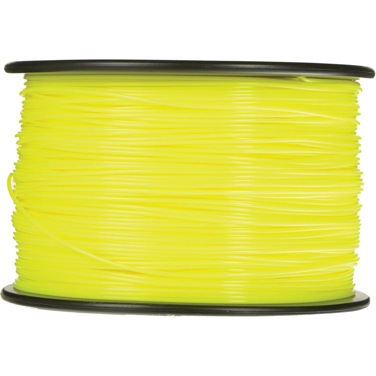 Image For old PLA Filament 1.75mm 1kg Yellow (754)
