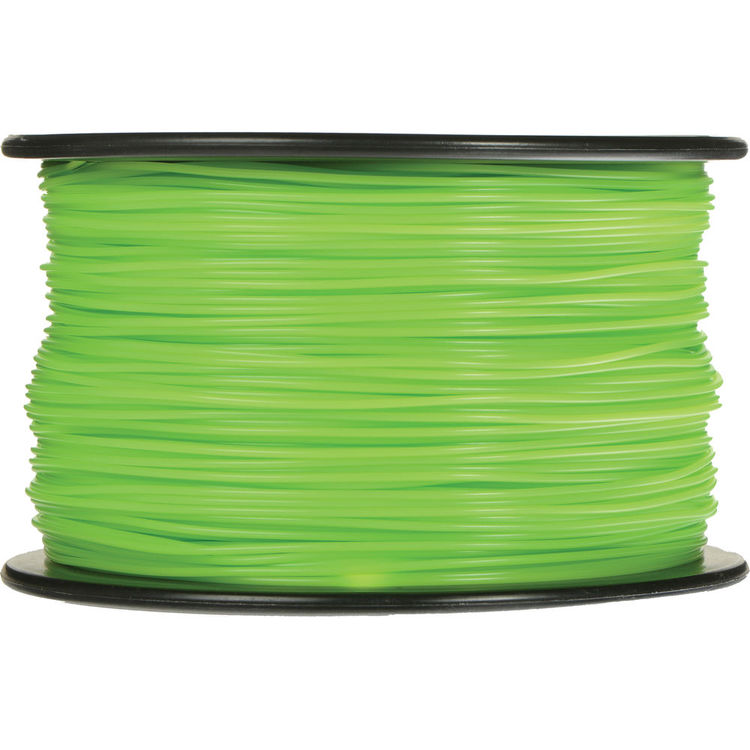 Image For old ABS Filament 1.75mm 1kg Green (754)