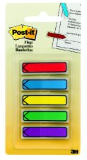 Image For Post-it Arrow Flags Standard Colors