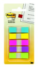 Image For Post-it Flags Assorted Bright Colors
