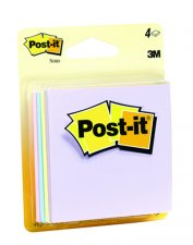 "Image For Post-it Notes in Pastel Colors 3""x3"""
