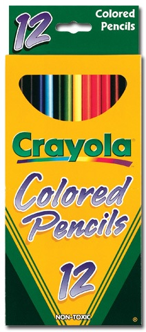 Cover Image For CRAYOLA COLORED PENCILS
