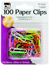 Image For Paper Clips: #1 Vinyl Coated