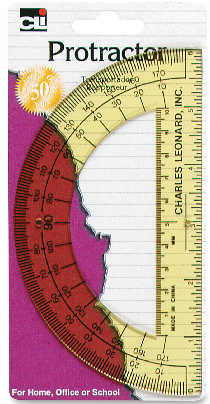 Image For Protractor 6""
